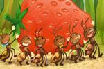 동화) 영차! 영차! 개미 친구들